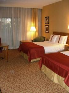 Deluxe Queen Room with Two Queen Beds with Pool View