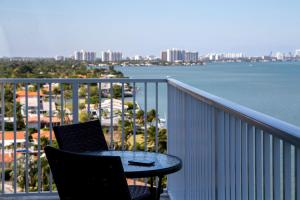 Panoramic Two-Bedroom Apartment Balcony - Bay and City View