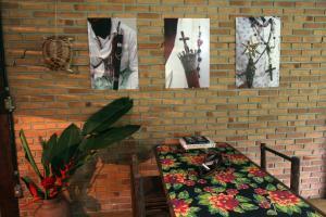 Casa de Cambury, Privatzimmer  Camburi - big - 9