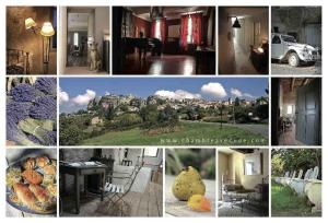 Chambre avec Vue, Bed and Breakfasts  Saignon - big - 23
