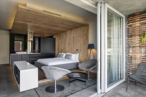 Luxury-dobbeltværelse med havudsigt