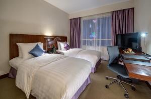 Executive Zweibettzimmer mit Zugang zur Lounge