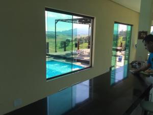 Casa em Piracaia, Дома для отпуска  Piracaia - big - 26