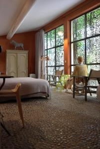 Chambre avec Vue, Bed and breakfasts  Saignon - big - 32