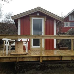 Hammerstad Camping, Комплексы для отдыха с коттеджами/бунгало  Сволваер - big - 65