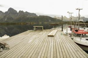 Hammerstad Camping, Комплексы для отдыха с коттеджами/бунгало  Сволваер - big - 41