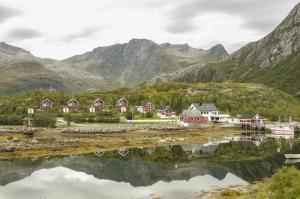 Hammerstad Camping, Комплексы для отдыха с коттеджами/бунгало  Сволваер - big - 60