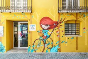 Flatsforyou Bed and Bike Carmen, Апартаменты  Валенсия - big - 51