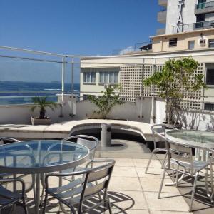 Flat South Beach, Aparthotels  Rio de Janeiro - big - 4