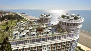 Black Sea Tower, Apartmanok  Batumi - big - 9