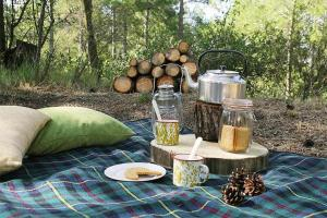 Forest Days, Люкс-шатры  Navés - big - 26