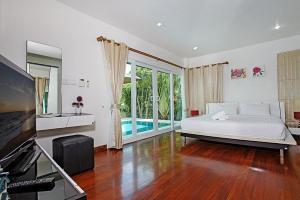 Rossawan Pool Villa, Виллы  Банг-Ламунг - big - 5