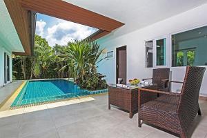 Rossawan Pool Villa, Виллы  Банг-Ламунг - big - 10