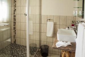 带Spa 浴缸的一居室木屋