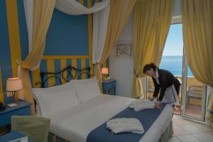 Hotel Albatros, Hotel  Varigotti - big - 47