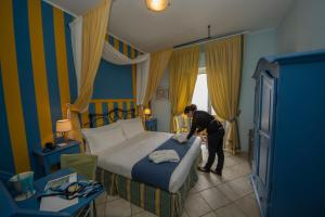 Hotel Albatros, Hotel  Varigotti - big - 35