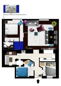 Palace Apartments, Apartments  Budapest - big - 18