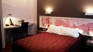 Citôtel De La Cloche, Hotel  Dole - big - 14