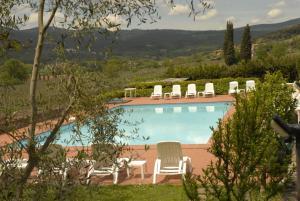 Relais Borgo Di Toiano, Vidiecke domy  Sovicille - big - 36
