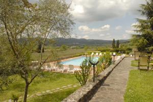 Relais Borgo Di Toiano, Vidiecke domy  Sovicille - big - 35