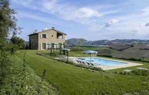 Ca' Lupino, Farmházak  Urbino - big - 12