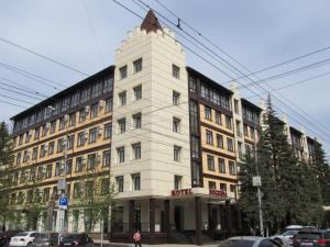 Bogemia Hotel on Vavilov Street