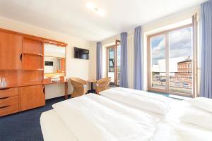 Hotel Kontorhaus, Szállodák  Stralsund - big - 13