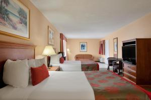 Deluxe Double Suite with Two Double Beds- Non-Smoking