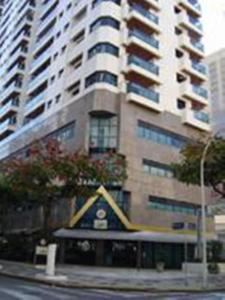 Flat Guarujá Capitania Varam, Appartamenti  Guarujá - big - 41