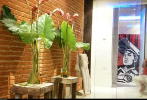 Apartamento Con Vista Al Caribe, Апартаменты  Картахена - big - 5