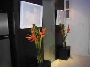 Apartamento Con Vista Al Caribe, Апартаменты  Картахена - big - 4