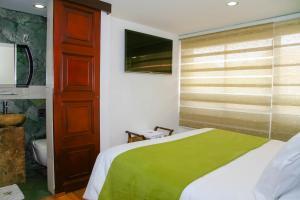 Hotel-Spa Casa de Lavim, Szállodák  Bogotá - big - 26