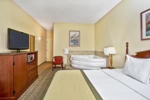 Deluxe-suite med kingsize-seng og spabad
