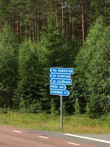 Route 26, Отели типа «постель и завтрак»  Laxtjärn - big - 19