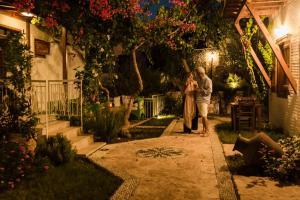 Courtyard, Hotel  Kalkan - big - 44