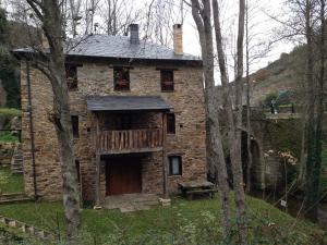 Casa Rural Doiras, Загородные дома  Piedrafita - big - 14