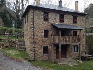 Casa Rural Doiras, Загородные дома  Piedrafita - big - 12