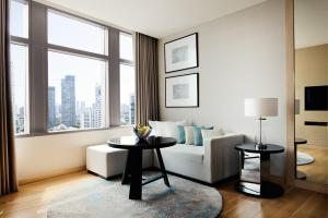 One-Bedroom Executive King Suite with City View - High Floor