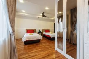 LSE @ Palm Garden Condominium, Ferienwohnungen  Johor Bahru - big - 11