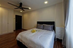 LSE @ Palm Garden Condominium, Ferienwohnungen  Johor Bahru - big - 9