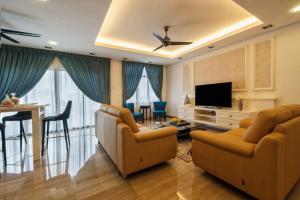 LSE @ Palm Garden Condominium, Ferienwohnungen  Johor Bahru - big - 4
