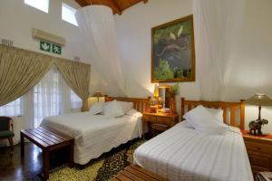 Rom Deluxe med king-size-seng og ekstra seng