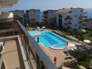 Sunset Beach Vip 2 Residences, Apartmanok  Alanya - big - 56