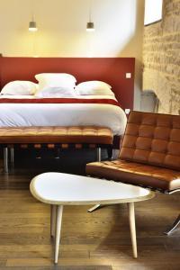 Aux Terrasses, Hotels  Tournus - big - 21