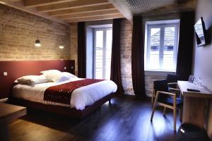 Aux Terrasses, Hotely  Tournus - big - 20