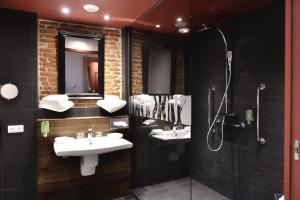 Aux Terrasses, Hotely  Tournus - big - 19