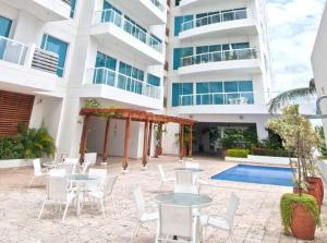 Terrazino Suites Frente al Mar, Appartamenti  Cartagena de Indias - big - 18