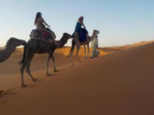 Camel Trek Bivouac, Zelt-Lodges  Merzouga - big - 5