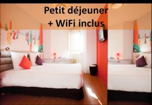 ibis Styles Saint Brieuc Gare Centre, Hotel  Saint-Brieuc - big - 1
