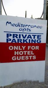 Mediterraneo Apartments, Apartmanhotelek  Arhángelosz - big - 48